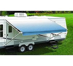 RV Trailer CAREFREE/CO. Fiesta Patio Awning Spring Assisted Awning 55 http://www.rvandcamper.net/awnings.html
