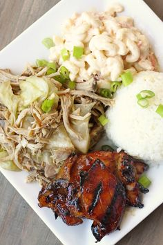 hawaiian food recipes There are few things in this world better than a good Hawaiian Plate Lunch. Here you will find everything you need to make a Hawaiian Plate Lunch at home! Hawaiian Plate Lunch, Hawaiian Dishes, Hawaiian Recipes, Hawaiian Chicken, Hawaiian Desserts, Hawaiian Bbq, Chicken Teriyaki Recipe, Grilled Chicken Recipes, Teriyaki Marinade