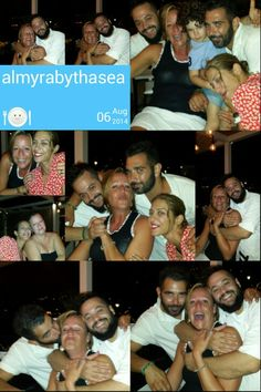 Friends 4ever in Ios Greece.  Almyra by the sea.