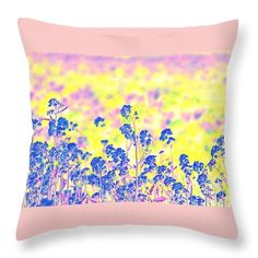 Wildflowers Throw Pillow featuring the photograph Wildflowers Of Southern Oregon by Michele Hancock