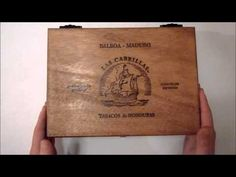 DIY Pochade Box Made From an Old Cigar Box Plein Air Painting - YouTube