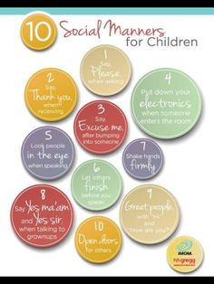 Good rules for kids