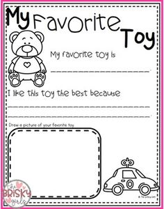 Back to School All About Me Activities (First Day of School Activities) Get To Know You Activities, All About Me Activities, First Day Of School Activities, Kindergarten First Day, Color Word Activities, Rhyming Activities, Kindergarten Activities, Preschool Writing, Preschool Songs