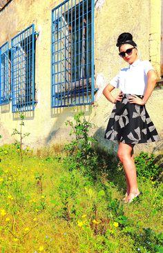 Gonna vintage #4 #vanessavan #vintage #retrò #pop #annicinquanta www.vanessavanhandmade.etsy.com