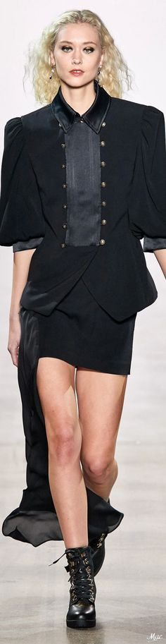Fall 2020 RTW Nicole Miller Nicole Miller, Fashion Labels, Peplum Dress, Glamour, Collections, Usa, Fall, Fashion Trends, Dresses