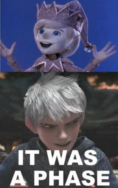 Jack Frost (then and now)