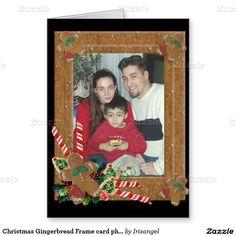 Christmas Gingerbread Frame card photo