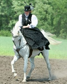 American Sidesaddle Association - Article: Little Steps to Gathering Aside