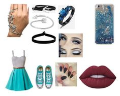"""""""<3"""" by hardcoregamergirl on Polyvore featuring The Flexx, McQ by Alexander McQueen, Midsummer Star and Lime Crime"""