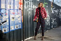 84 Outfit Ideas For Style Extroverts #refinery29  http://www.refinery29.com/2015/03/83675/paris-fashion-week-2015-street-style#slide-53  One print, three ways, as seen on Candela Novembre.