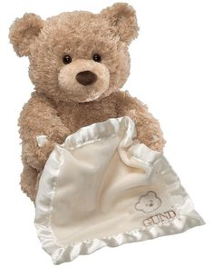 baby Gund ANIMATED Plays Peek A Boo Bear * VIEW VIDEO