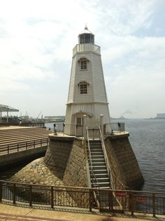 Old Sakai #Lighthouse ~ Osaka, #Japan
