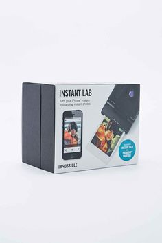 "Impossible – Kamera ""Instant Lab"" in Schwarz"