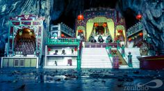 Chinese Temple hidden in a Cave