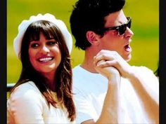 Finn and Rachel - Cory and Lea - Pretending  Really sad for what happened