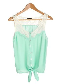 For spring break, yes please  Bright and Day Top, #ModCloth