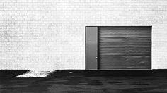 #45 West Wall, Unoccupied Industrial Structure, 20 Airway Drive, Costa Mesa, 1974...Lewis Baltz