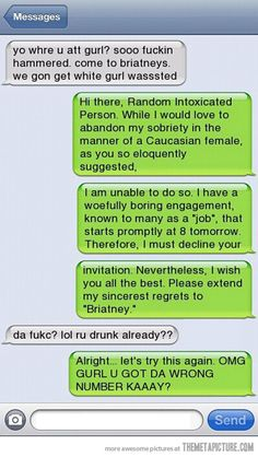 Funny Text Messages | Funny Text Messages Jokes – 16 pics | Bacon Wrapped Media