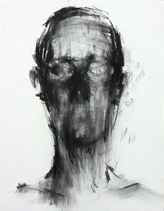 Charcoal on Canvas 2013 by KwangHo Shin: