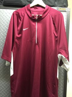 Nike Dri-Fit Training Jersey Basketball - Color 612 Burgundy Size: XXL  #Nike