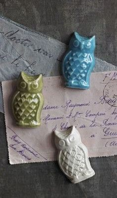Owl magnets - Plümo Ltd from Plumo. Saved to Owl You Need Is Love. Shop more products from Plumo on Wanelo. Owl Kitchen, Owl Always Love You, Ceramic Owl, Owl Crafts, Owl Bird, Night Owl, Cute Owl, Bird Feathers, Creations