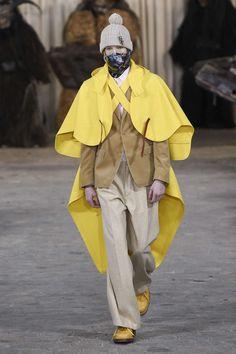 Walter Van Beirendonck FALL 2017 Walter Van Beirendonck, Fashion Mask, Raincoat, Menswear, Autumn 2017, Fall, Jackets, Creative, Style