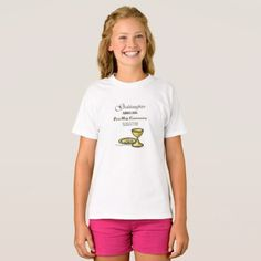 Girls' Hanes TAGLESS® T-Shirt - girl gifts special unique diy gift idea