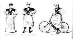 """Suknia wynalazku pani Sonderowej. """"Koło"""" nr 2, Lwów, 15 kwietnia 1896"""