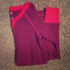 Old Navy thermal Red and black striped thermal. Very comfy I just don't wear long sleeve shirts very much so it's basically a brand new shirt lol Old Navy Tops Tees - Long Sleeve