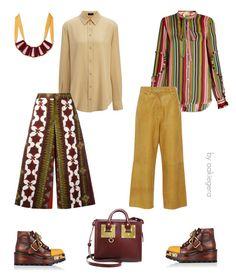 """Choose your look"" by aakiegera on Polyvore featuring мода, Joseph, N°21, Valentino, Sophie Hulme, TIBI и Prada"