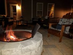 Patio and Fire Pit #kentuckytwist, #thealternativelandscapecompany, #nicolock Landscaping Company, Fire, Patio, Outdoor Decor, Projects, Home Decor, Log Projects, Blue Prints, Decoration Home