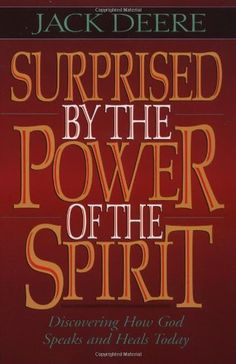 What caused a former Dallas Seminary professor to believe that the miraculous gifts of the Holy Spirit are being given today? What convinced someone skeptical about miracles that God still speaks and heals? A dramatic change took place in Jack Deere's life when he took a fresh look at the Scriptures. #books