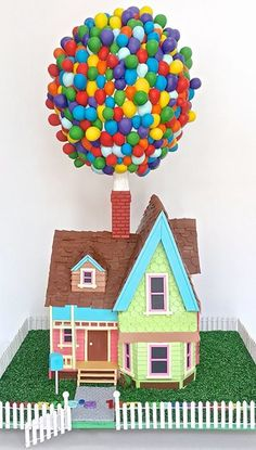 (1) Up House Cake - Celebrate with Cake                                                                                                                                                     More