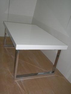 mesa de sala con patas de metal - Buscar con Google