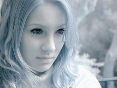 infrared portrait
