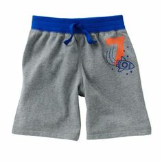 Jumping Beans Spaceship Shorts - 3T
