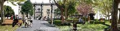 Arquitectura del paisaje valladolid plaza sta cruz  Proyecto de remodelación y revitalización de Espacio Público en Valladolid. Paisaje Urbano y Arquitectura del Paisaje.