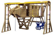 Airplane Swing Set