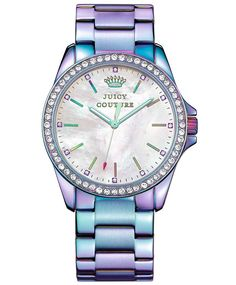 OROLOI.gr - JUICY COUTURE Ladies Crystal Stainless Steel