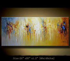 Acrílico original abstracto pintura pinturas por xiangwuchen