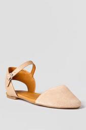 Lucky Brand Shoes, Abbee Dorsay Flat in Tan