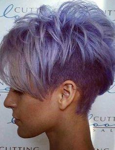 Cute-Short-Grey-Purple-Hair-for-Girls