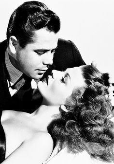"Glenn Ford & Rita Hayworth... from the film classic ""Gilda"",  1946, Directed by Charles Vidor"