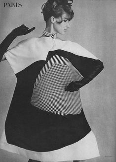 March Vogue 1964 op art