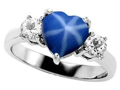 I'm jelly. I've been wanting a star sapphire for a very long time. They're gorgeous and my Mimi loved 'em too.