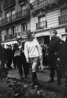 Paris, Mai 1968.Photos by Gökşin Sipahioğlu