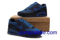 quality design 5c7e1 ffbad Comprar barato hombre Nike Air Max Zapatillas (colornegro,azul,azuloscuro)  en linea en Espana.