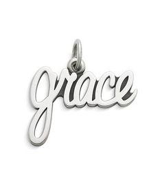"""Grace"" Charm | James Avery"