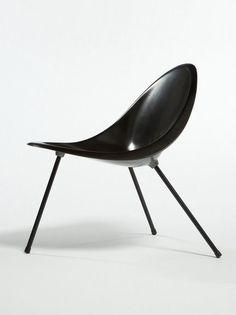 POUL KJÆRHOLM,Aluminum Tripod Chair, originally designed in 1953