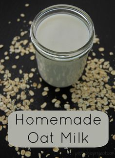 Add this to your to do list - Homemade Oat Milk! #DIY @pistacioproject